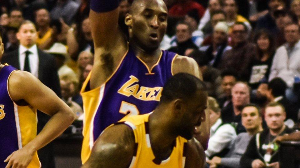 Lebron James e Kobe Bryant nel 2016