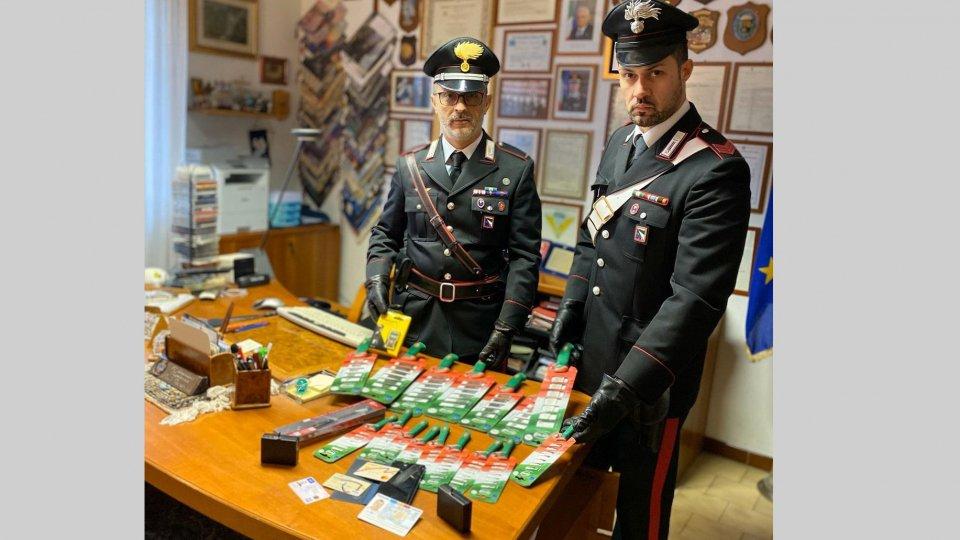 Misano Adriatico: ladro sorpreso con posate rubate a San Marino, arrestato