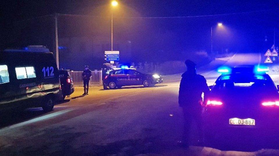Carabinieri: ritirata la patente ad un 34enne di San Marino dopo l'alcoltest