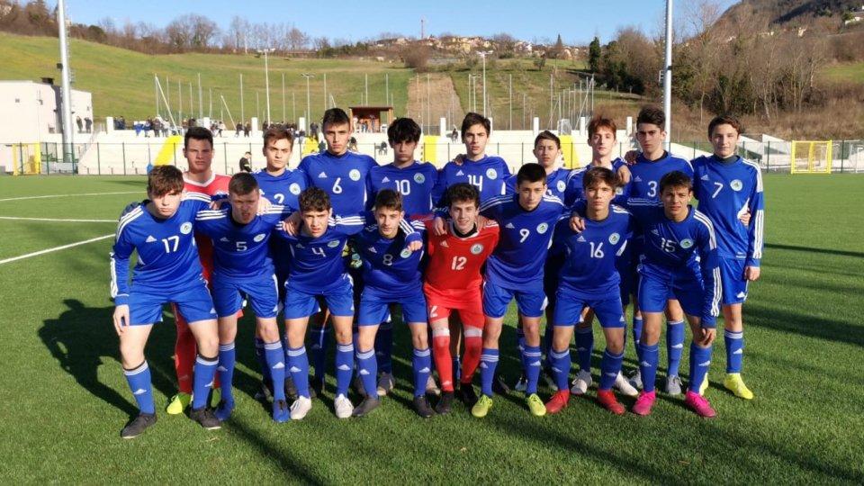 San Marino U17 cede 5-2 alla Rappresentativa Lega Pro