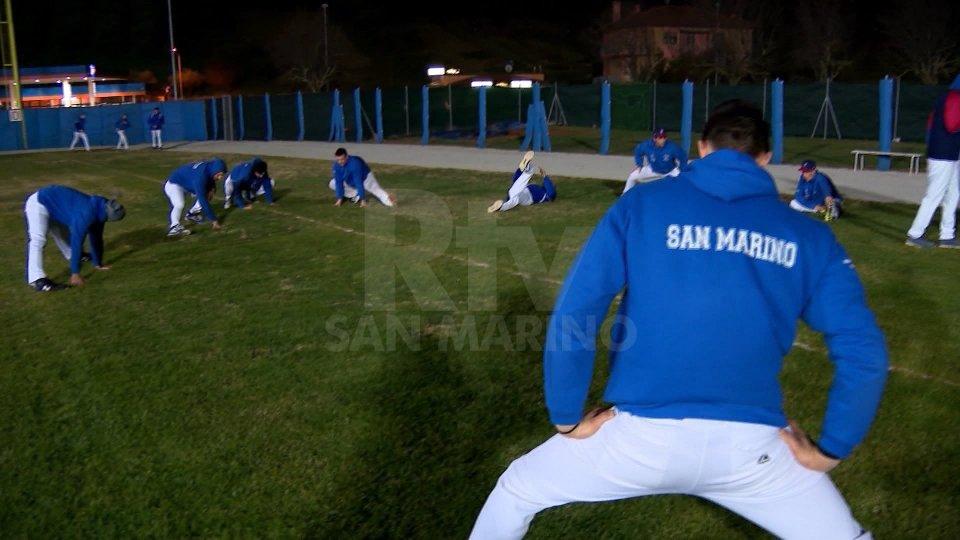 Allenamenti San Marino Baseball