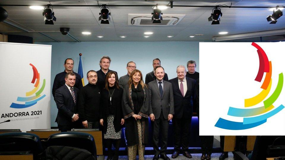 Andorra 2021: presentato il logo ufficiale