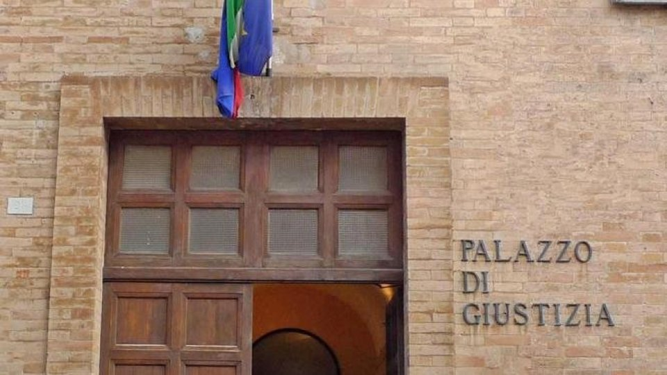 Tribunale di Urbino (Ansa)