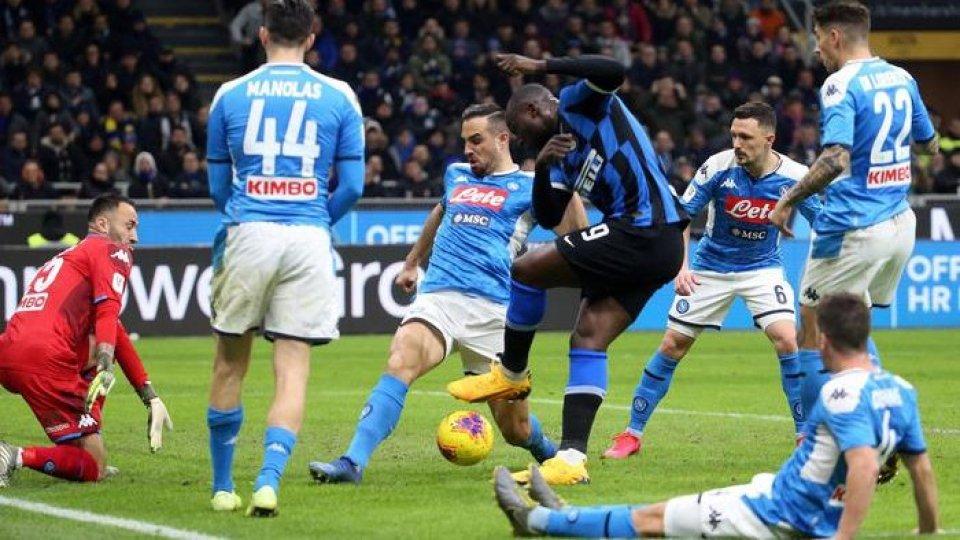 Inter - Napoli (Ansa)