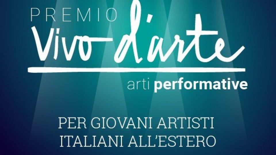 """Concorso-premio """"Vivo d'arte - Arti performative"""" per giovani italiani residenti all'estero"""