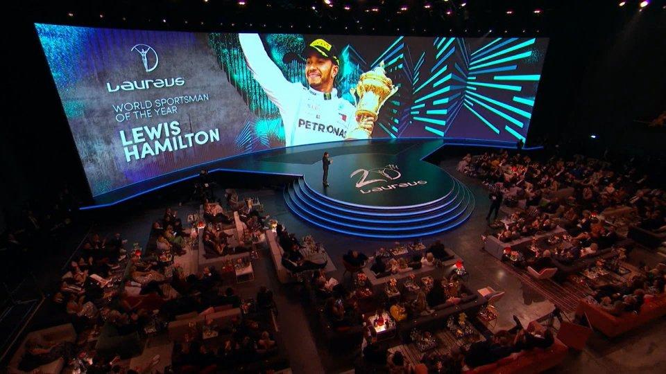 Sportivo dell'anno, a Berlino vincono in due: Hamilton e Messi