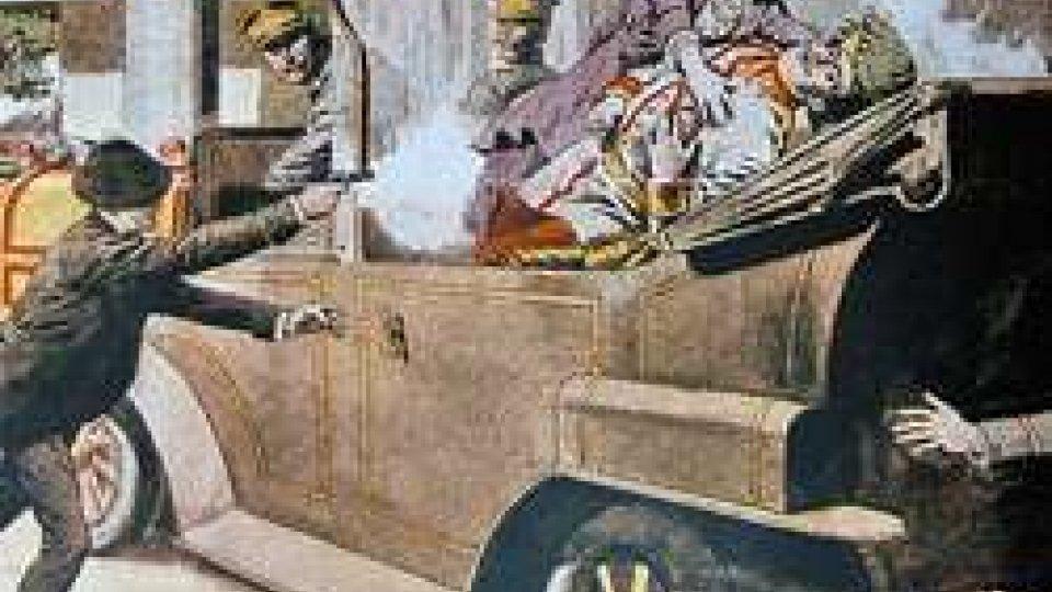 Gavrilo Princip esplode due colpi di pistola