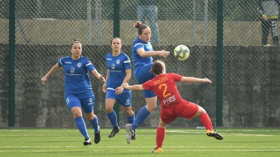 @fsgcViola Brambilla - centrocampista San Marino Academy  Greta Di Luzio - attaccante San Marino Academy  Alison Rigaglia - attaccante San Marino Academy