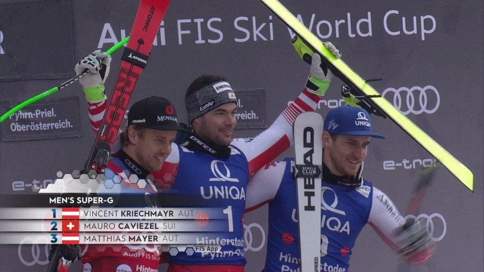 L'austriaco Kriechmayr ha vinto il SuperG di Hinterstoder