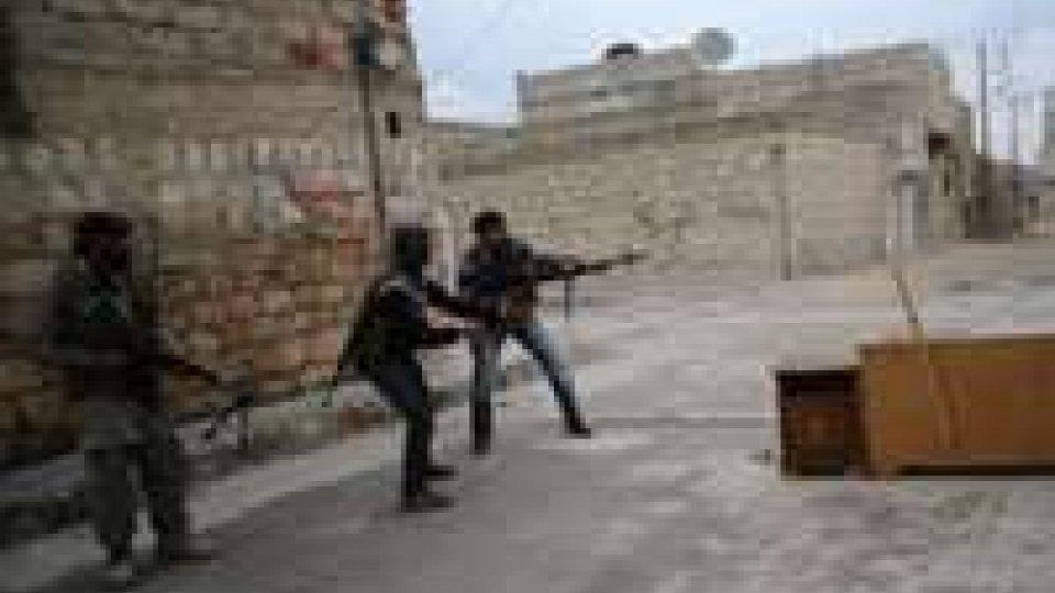 Colpi di mortaio a Damasco