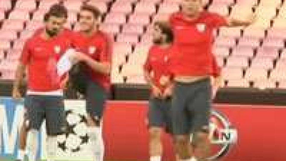 San Paolo esaurito. Questa sera Napoli- Atletico BilbaoSan Paolo esaurito. Questa sera Napoli- Atletico Bilbao