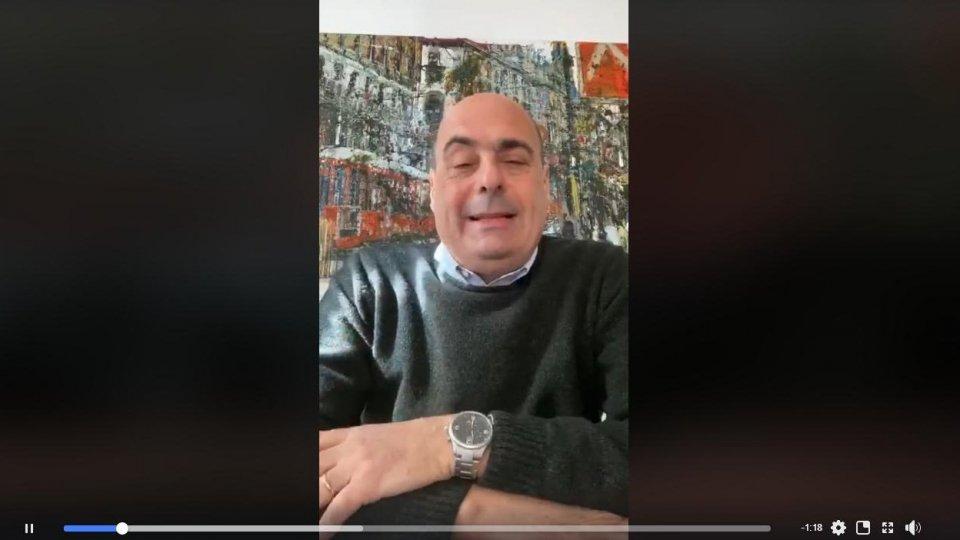 Coronavirus: positivo il Segretario del PD Nicola Zingaretti