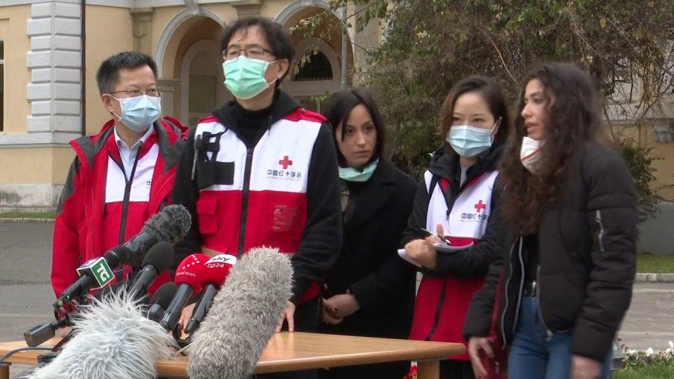 I medici cinesi a Roma