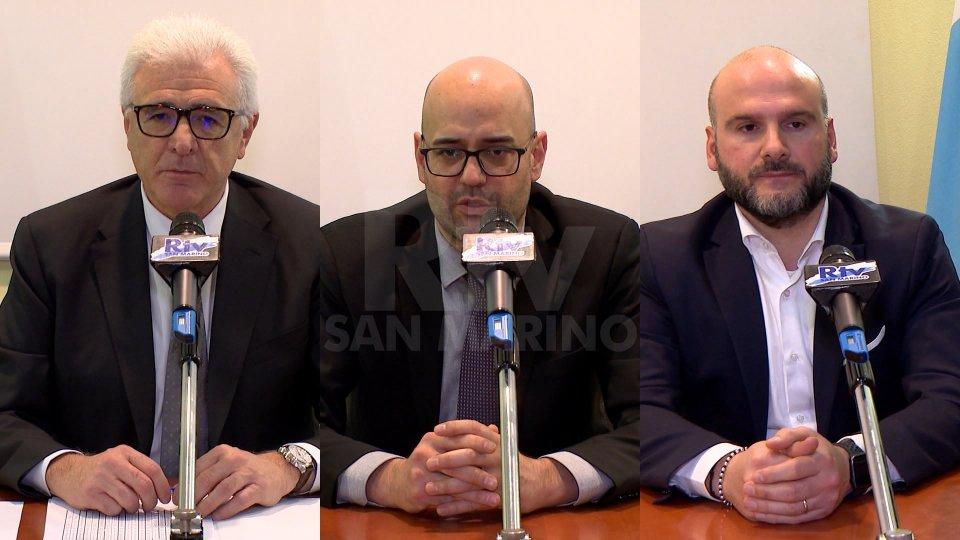 Gabriele Rinaldi, Roberto Ciavatta e Stefano Canti