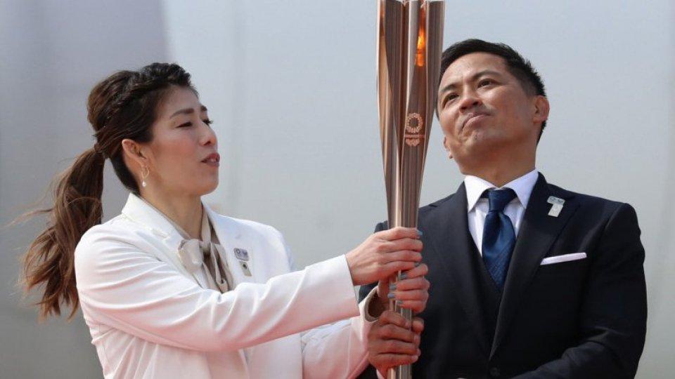 La fiamma Olimpica  è arrivata in Giappone