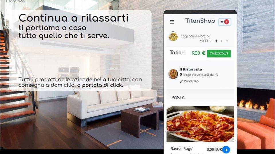 TitanShop: nasce il primo marketplace online delle attività sammarinesi con consegna a domicilio