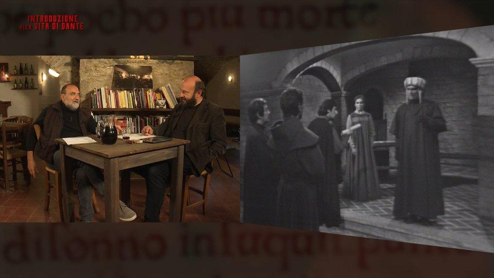 """""""Vita di Dante"""": da questa sera la fiction con Giorgio Albertazzi spiegata da Romeo e Rondoni"""