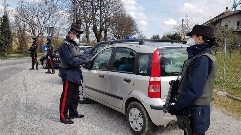 Cc Novafeltria: 8 persone denunciate per aver violato le misure restrittive