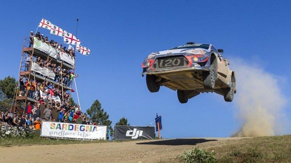 WRC, rinviato il Rally di Sardegna
