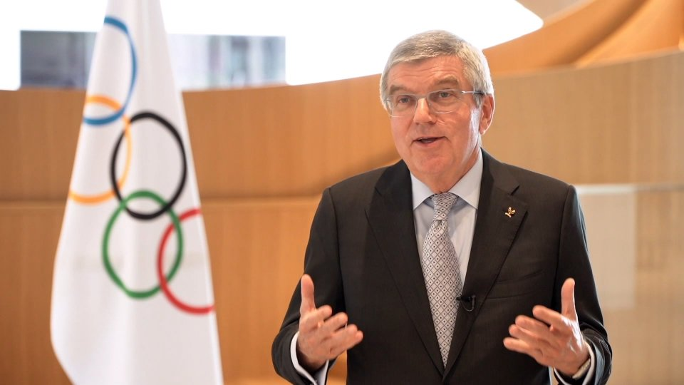 """Rinvio Tokyo 2020, Bach: """"Decisione presa per la salute degli atleti e di chi è coinvolto"""""""