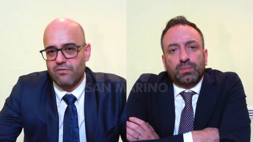 I Segretari Roberto Ciavatta e Luca Beccari