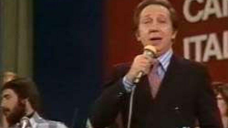 Mike a Sanremo 1977