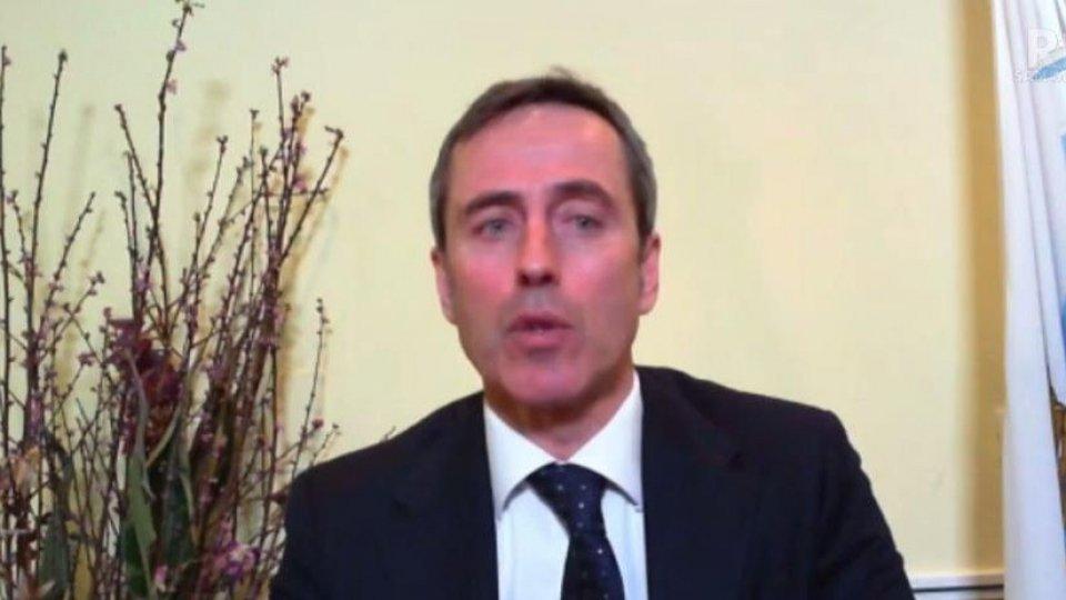 Il Segretario all'istruzione Belluzzi