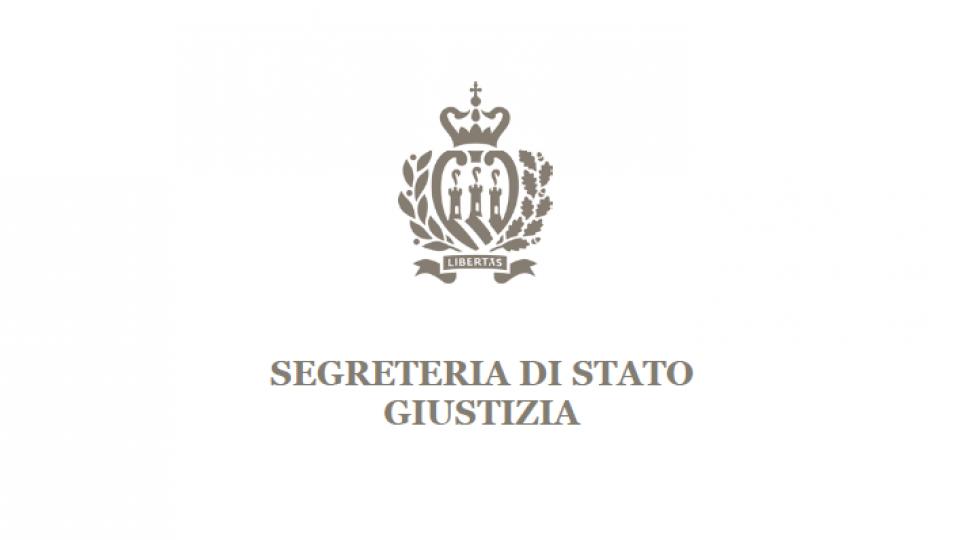 Segreteria Giustizia: estensione del periodo di ferie giudiziarie straordinarie