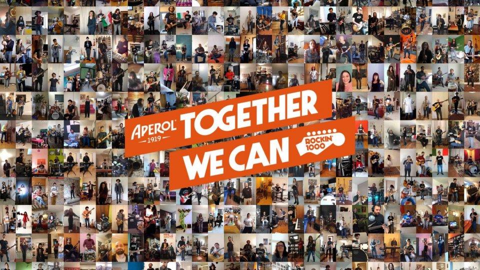 Together We Can: Rockin'1000 e Aperol per la Protezione Civile