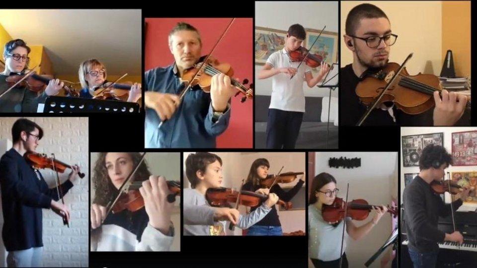 """#distantimauniti: la musica non si ferma con allievi e docenti Ims riuniti in una grande orchestra """"virtuale"""""""