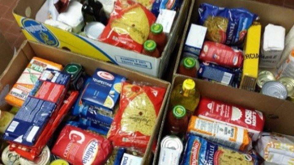 Caritas pronta alla distribuzione dei pacchi