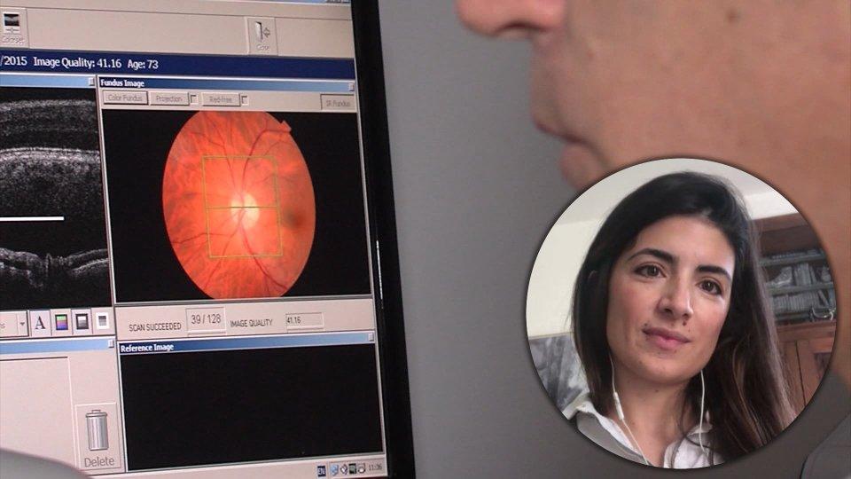 Nel servizio l'intervista a Cristina Briamonte (Medico Oculista)