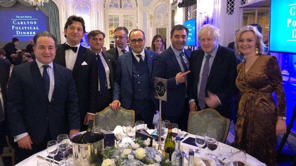 Dall'imprenditore Joe Ricotta (UK) 5000 euro alla Protezione Civile di San Marino