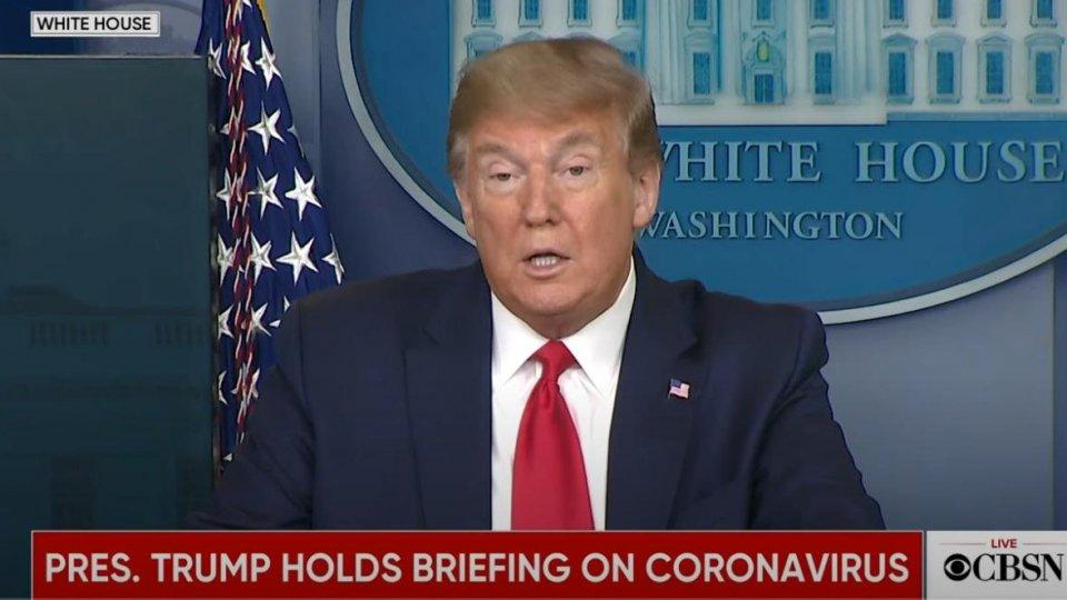 """Usa, Trump: """"Vicini alla riapertura del Paese"""""""