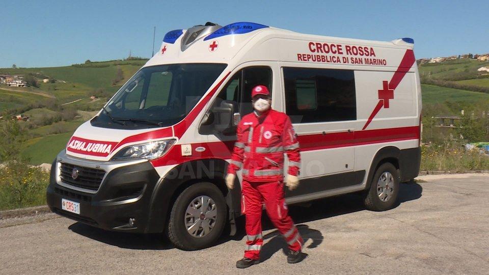 Nel video, le interviste ai volontari della Croce Rossa Sammarinese, Ivan Tonini e Maurizio Taddei e al Vice-Presidente, Giuliano Giardi