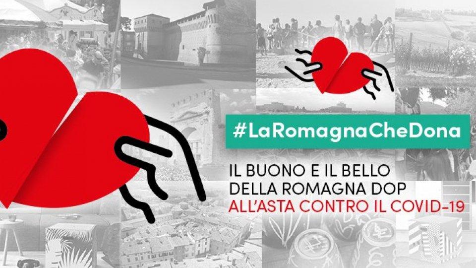 La Romagna che Dona. Asta di beneficenza online per attività a contrasto emergenza COVID-19