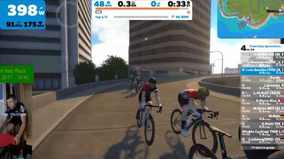 Il Giro diventa virtuale