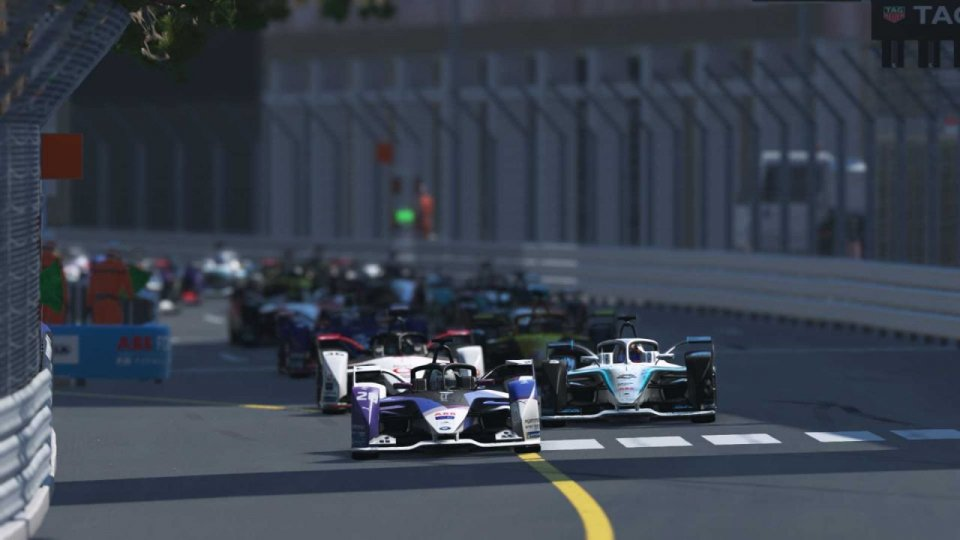 "Formula E: prima vittoria ""virtuale"" a Max Gunther"