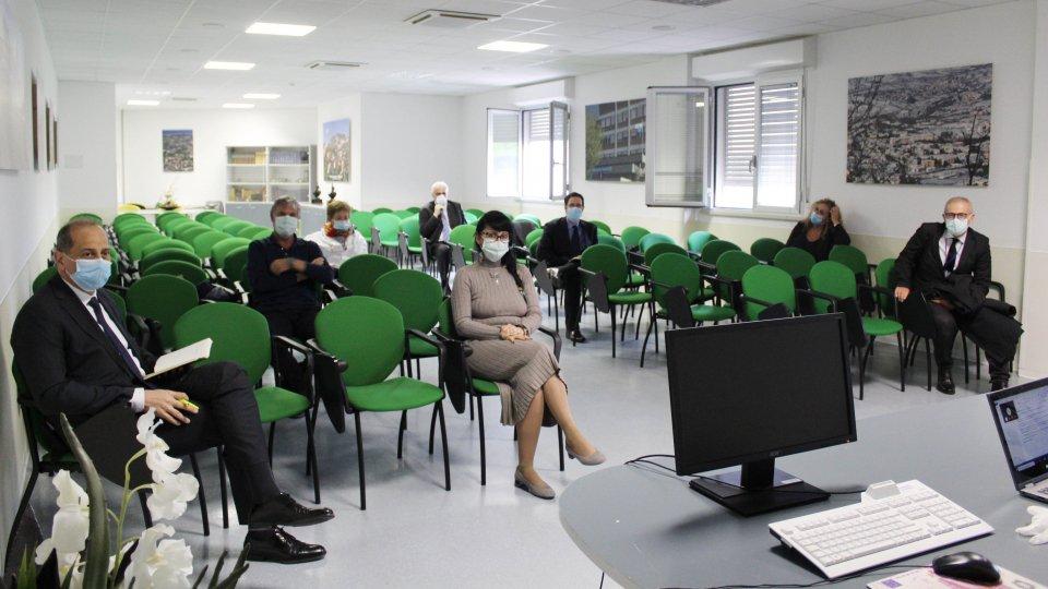 Riunione del Gruppo coordinamento per le emergenze Sanitarie Disposta la fase di riapertura di alcuni servizi ospedalieri.
