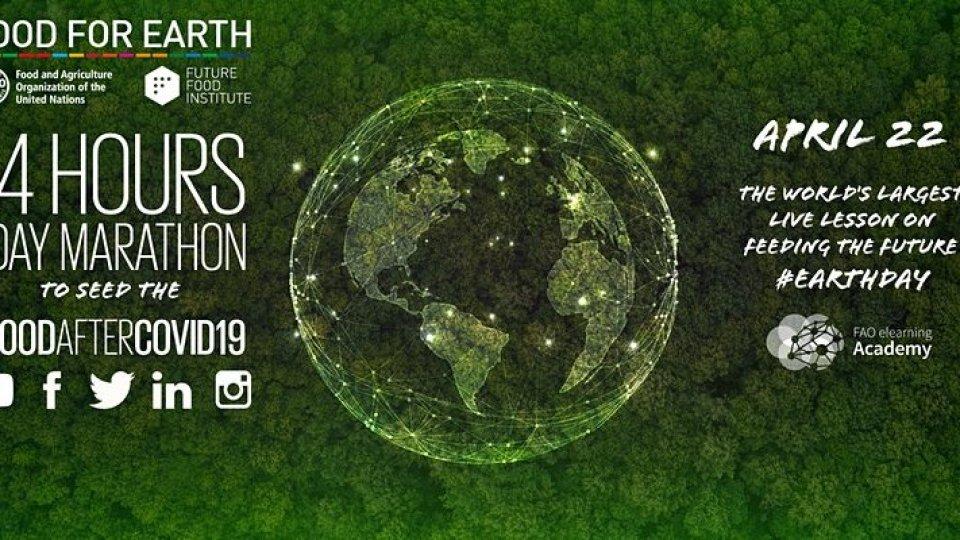 San Marino partecipa alla maratona globale per il 50° anniversario della Giornata Mondiale della Terra - Earth Day (22 aprile 2020)