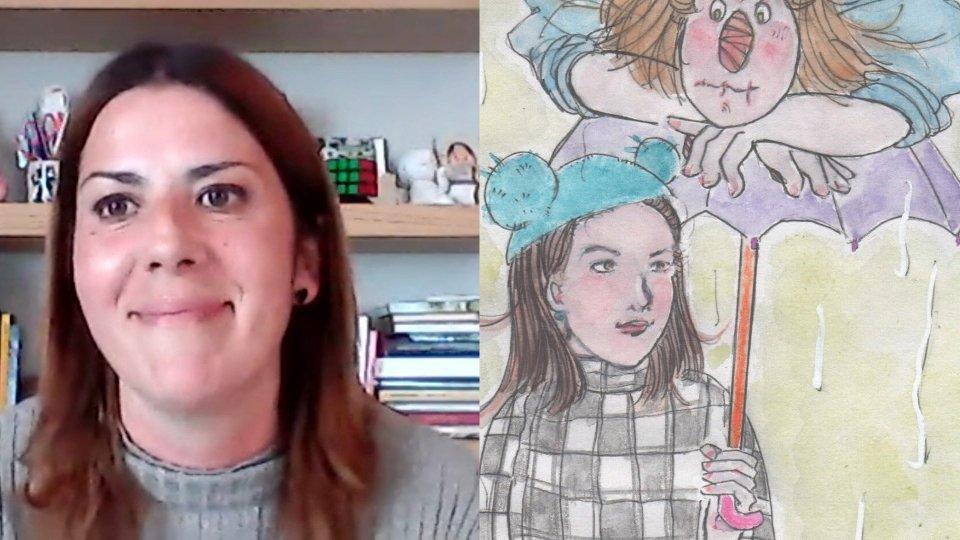 Anna Chiara Macina in collegamento Skype