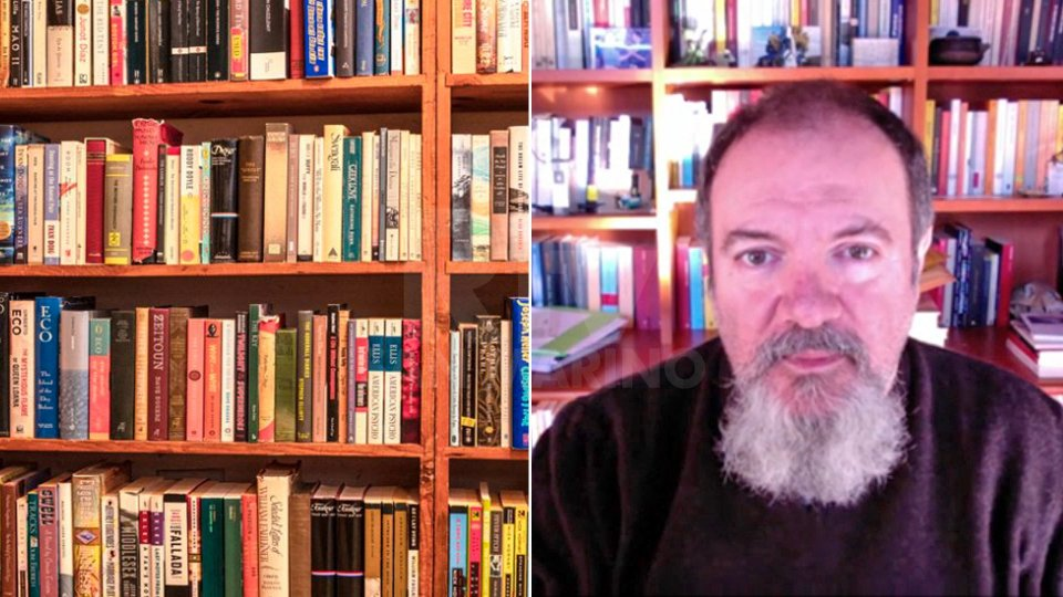 L'intervista allo scrittore Carlo Lucarelli
