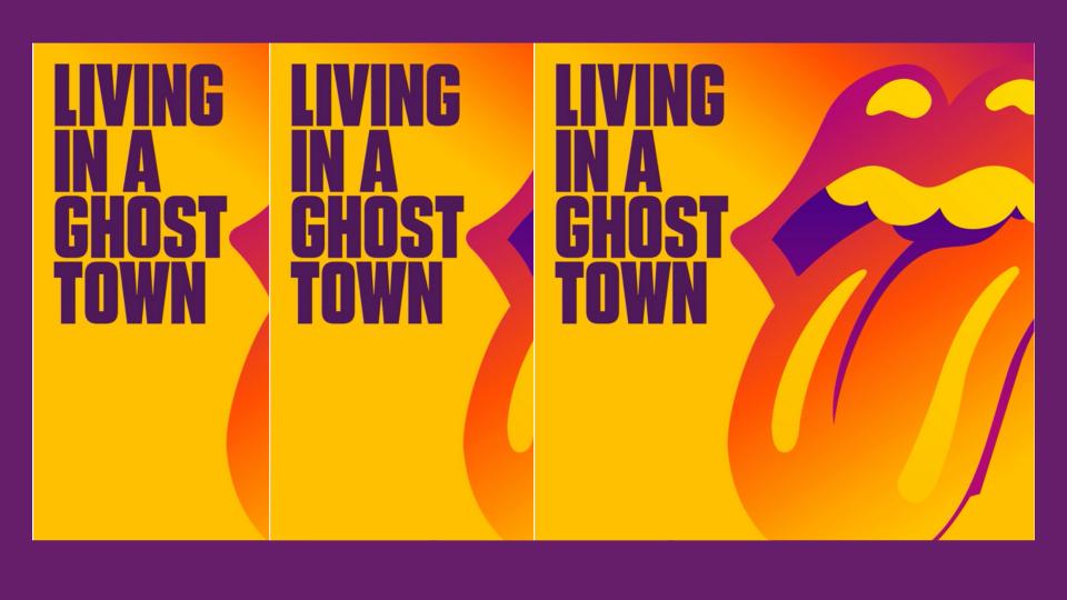 "The Rolling Stones: il nuovo inedito è ""Living in a Ghost Town"""