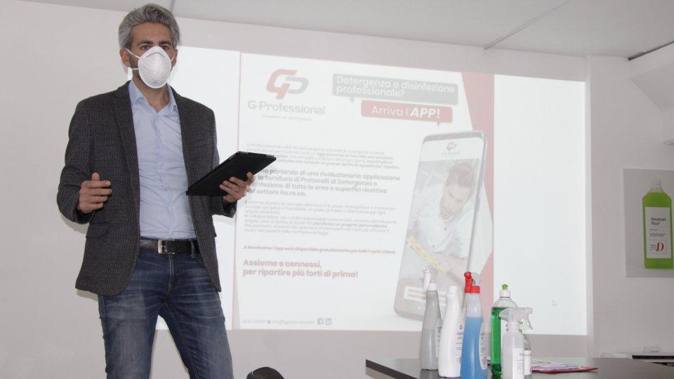 """G-Professional - Arriva da San Marino la prima App per la 'fase 2' che aiuta albergatori e ristoratori a igienizzare e disinfettare gli ambienti: """"Così supportiamo la voglia di ripartenza delle aziende del turismo"""""""