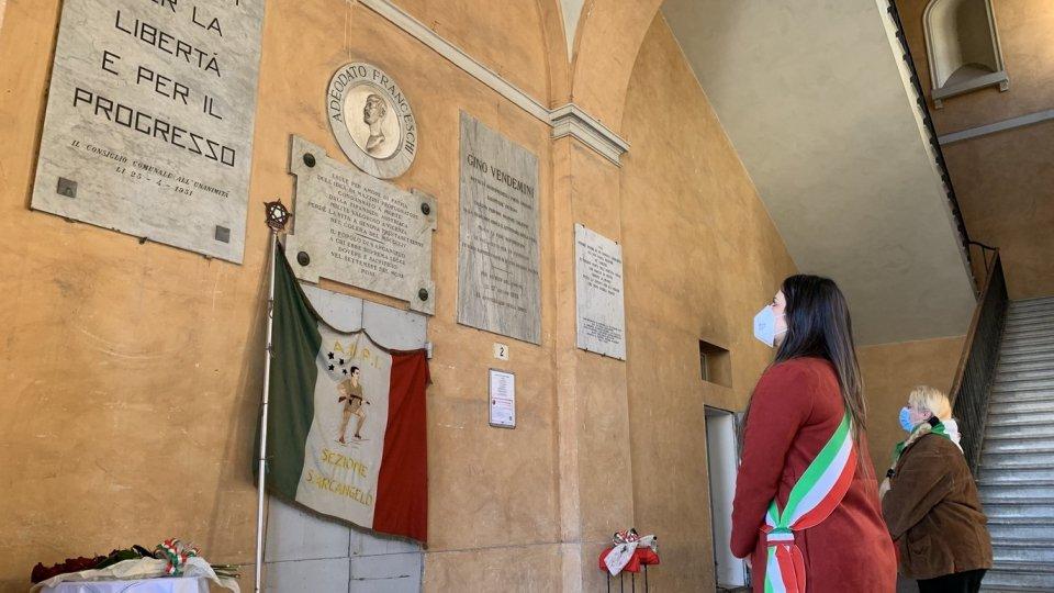 25 aprile: commemorazione simbolica a Santarcangelo