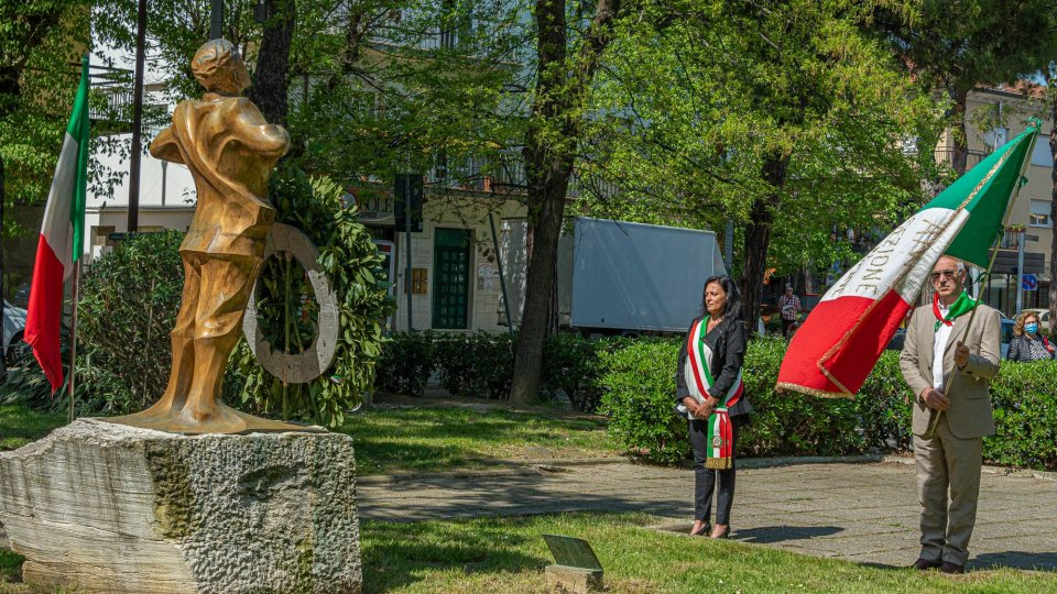 Commemorazione del 25 aprile a Riccione
