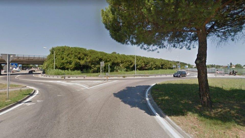 Incrocio fra Via Emilia e Via Capelli (google maps)