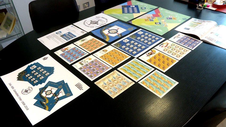 Francobolli emessi dall'UFN (foto archivio)