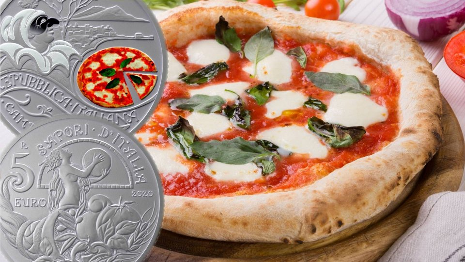 La Zecca di Stato italiana celebra la Pizza