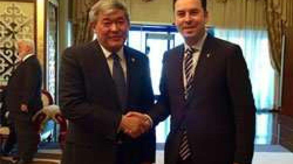 Missione in Kazakhstan per il Segretario Lonfernini